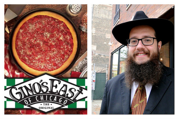Rabbi Yosef Moscowitz is planning to bring a Gino's East Vegetarian pizzeria to Wicker Park, as part of an expansion of the Bucktown Wicker Park Chabad Jewish Center.