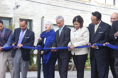 Northeastern Illinois University celebrated the opening of its new El Centro campus Tuesday in Avondale.