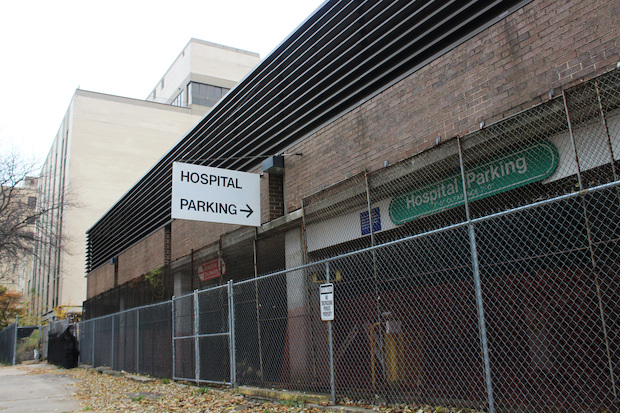 The Edgewater Medical Center parking garage was sold to MCZ Development.