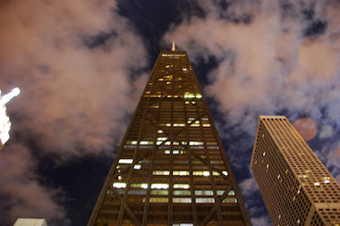 The Hancock Center, 875 N. Michigan Ave., is one of the most haunted places in Chicago, ghost tour guide Ursula Bielski said.