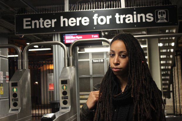 Kara Crutcher, 24, is working with the CTA to produce ads to fight sexual harassment on public transit.