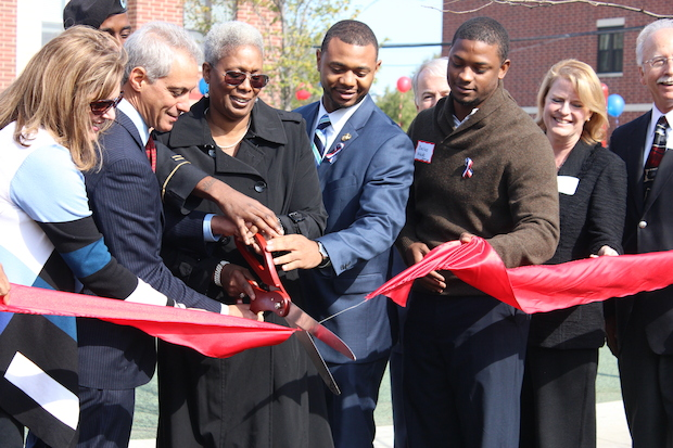 A grand opening was held on Oct. 17, 2014 for Hope Manor II, a 73-unit apartment complex for veterans and their families.