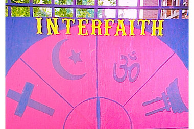 Two local religious institutions are hosting an interfaith gathering.