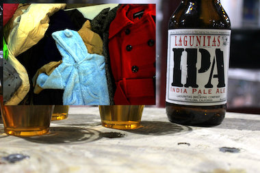 Lagunitas Brewing Company is collecting coats and other cold weather wear at their Chicago taproom.