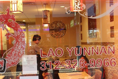 Lau Yunnan reopened Friday after being searched by FBI Agents.