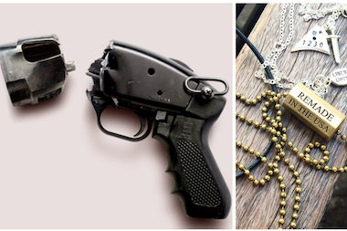 Liberty United, a New York-based organization, turns guns and bullets into jewelry, with proceeds benefiting anti-violence organizations across the country.