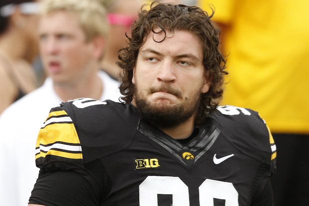 Lane Tech graduate Louis Trinca-Pasat, a defensive lineman at Iowa, recently started his 30th straight game for the Hawkeyes.