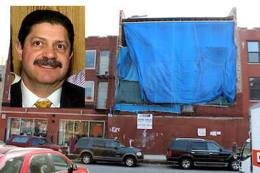 Businessman Perry Mandera has applied to open a dispensary in a vacant building at 1105 W. Fulton St. in Fulton Market.