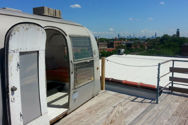The rooftop Airstream is among the Lincoln Square/Ravenswood gems included in Open House Chicago.