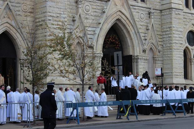 chicago river north blase cupichs three jokes flavor first homily as chicagos new archbishop