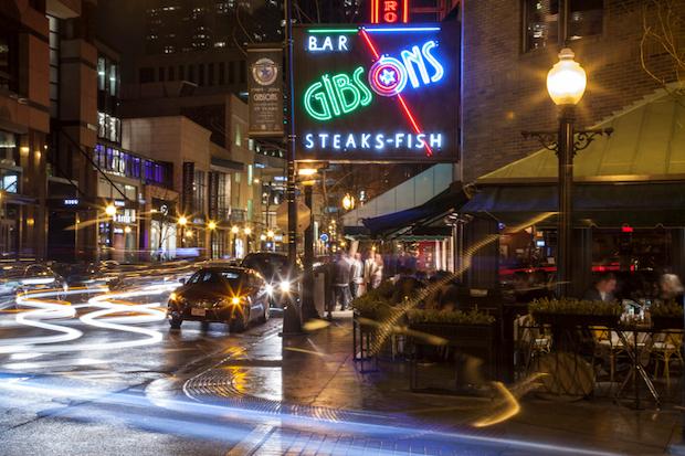 Gibsons Bar & Steakhouse,1028 N. Rush St.