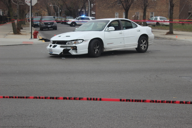 Four people were shot Wednesday afternoon on a Humboldt Park corner that neighbors say has been a problem in recent months.