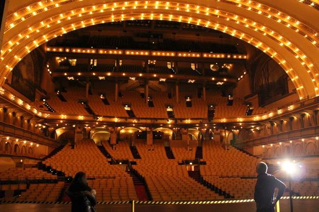Louis Sullivan S Auditorium Theatre Celebrates 125 Years