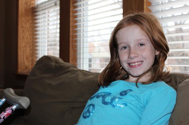 Community Rallies Around 9 Year Old Girl Battling Rare