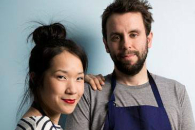 Husband-wife team Beverly Kim and John Clark of Parachute were nominated for Best Chef Great Lakes.