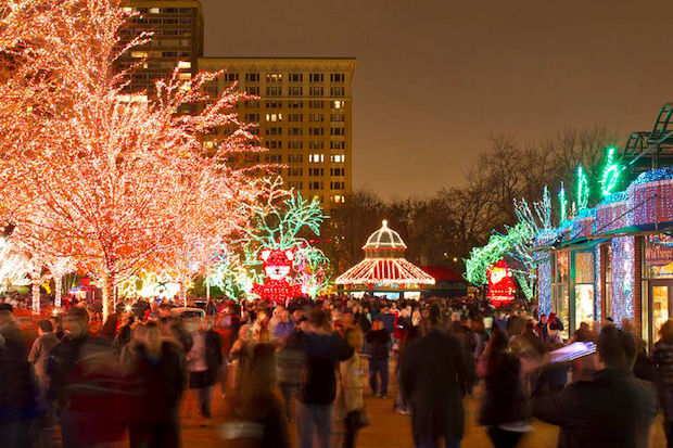 ZooLights kicks off Friday at Lincoln Park Zoo.