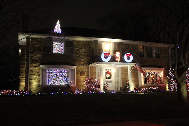 Sauganash and Edgebrook are known for their tricked out houses at Christmas time.