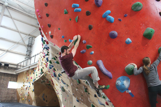 Brooklyn Boulders Celebrates Grand Opening With Climbing Walls Now ...