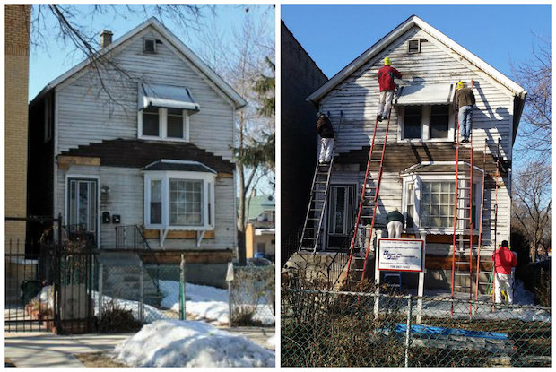 restoration underway at walt disney s chicago home hermosa rh dnainfo com walt disney home entertainment clg wiki walt disney home video