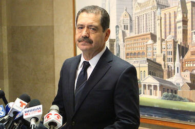 "Cook County Commissioner Jesus ""Chuy"" Garcia is also calling for an end to red-light cameras."