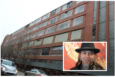 A federal bankruptcy judge has OK'd the sale of the abandoned Spiegel catalog warehouse to a group led by DaHuang Zhou, one half of the world-renowned artists known as the Zhou Brothers.
