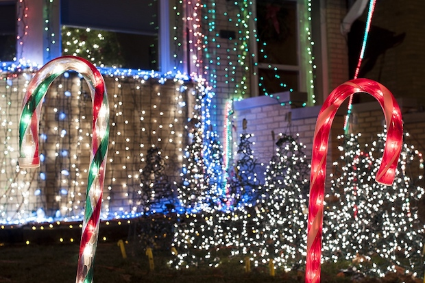 The third year of Tim Jahn's Christmas light display at his Norwood Park home features new music.
