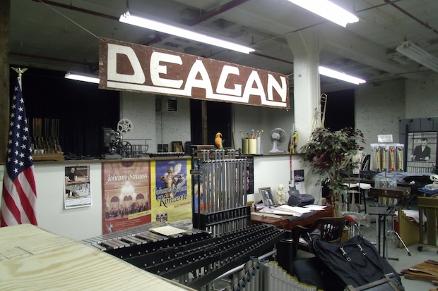 The Deagan building in Ravenswood has a long, musical history that continues today.