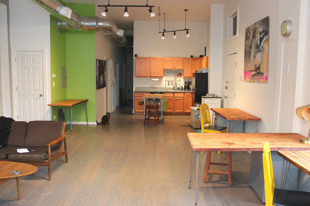 Part co-working space, part events space, husART Design Collective is now open at 1800 W. 21st St. in Pilsen.