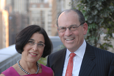 Joseph Neubauer and his wife, Jeanette Lerman-Neubauer, have committed more than $125 million to the University of Chicago.