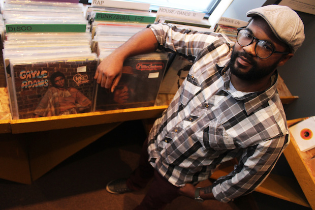 Quinn Cunningham opened Funk Trunk records on Sheridan Road in December 2014.