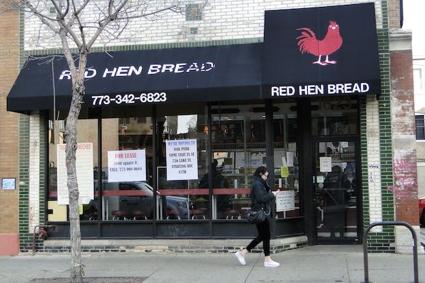 Red Hen Bread at 1623 N. Milwaukee Ave. is closing.