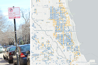Where Not to Park: City Unveils New Residential Parking Zone Map