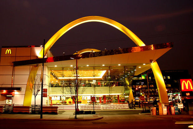 McDonald's is hiring 11,000 workers in the Chicago area. Here, is the Rock 'n' Roll McDonald's, 600 N. Clark St.