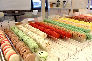 Friday's offerings at Sugar Fixe Macaron