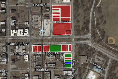 The University of Chicago has been buying land around Garfield and King Drive.