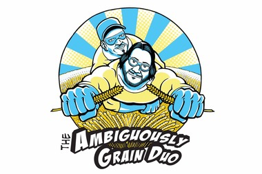 "Beverly-based Horse Thief Hollow has partnered with Revolution Brewing in Logan Square to produce Ambiguously Grain Duo — a German-style beer known as a Sticke Alt. This dark, seasonal beer made with Kolsch yeast is named after the popular ""Ambiguously Gay Duo"" skit on ""Saturday Night Live."""