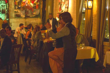 Artango Bistro has an unusual side dish on its menu — free tango lessons.