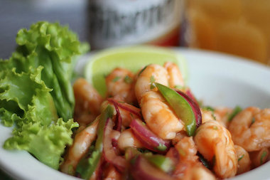 Ceviche — raw seafood marinated in citrus juices — is perhaps the best-known Peruvian dish.
