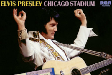 Elvis Presley's 1976 concerts at the Chicago Stadium were captured for this live recording.