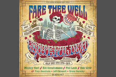 The Fare Thee Well show runs July 3 through 5.