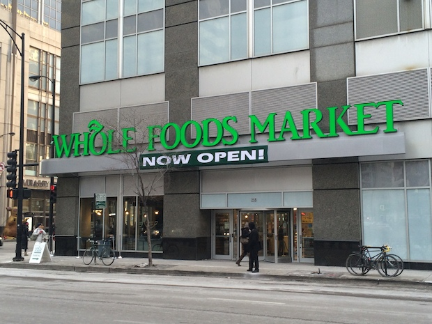 A quick look at some of the amenities at the Streeterville Whole Foods, 255 E. Grand Ave., which opened Wednesday.