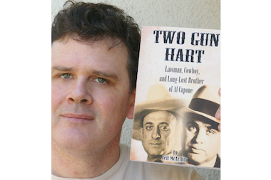 "Author Jeff McArthur's book ""Two Gun Hart: Lawman, Cowboy and Long-Lost Brother of Al Capone,"" tells the little-known story of Al Capone's oldest brother."