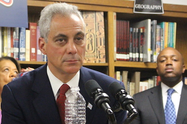 Mayor Rahm Emanuel supported sweetening the city's proposal for the Obama Presidential Library by including park land.