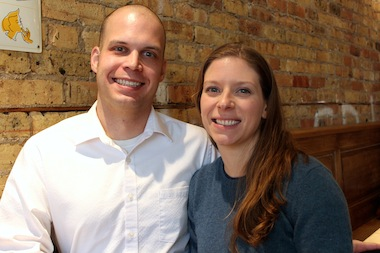 Kate Jakubas and Mike Mayer started Meliora K in their Lincoln Park home.