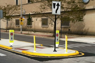 Crossing Irving Park Road near Portage Park will get a little easier with the installation of a pedestrian refuge island near Linder Avenue, Ald. Tim Cullerton (38th) said.