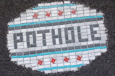 Pothole Mosaic Art Fundraiser Ends Sunday