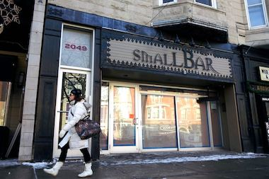 The former Wicker Park SmallBar at 2049 W. Division St.