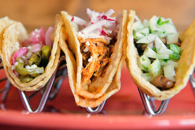 Si Fu Chinese Latin Kitchen is hosting a free tasting Wednesday of new menu items, including tacos.