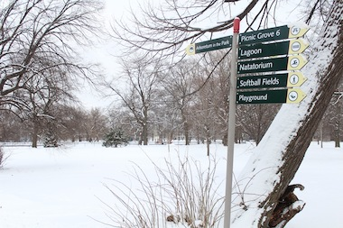 A section of Washington Park is considered the favored spot for the Barack Obama Presidential Library by many South Siders.