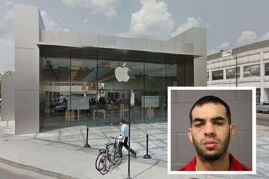 Bilal Matarieh, 25, was charged with felony burglary after the Lincoln Park incident.